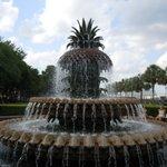Charleston water fountain