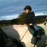 1st time horse riding- so exciting!