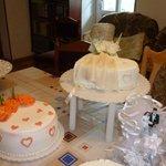 Irine bakt prachtige taarten