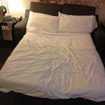 divano letto in cui hanno dormito 2 ragazze di 1, 80 mt!