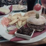 welsh steak burger