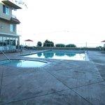 Swimming Pool at Dawn