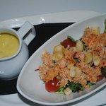 insalata di lagosta e grangio