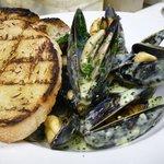 Fresh Salt Spring Island Mussels