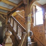 Carved Stairway