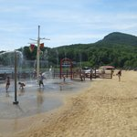 Beach at Lake Lure & Water Works