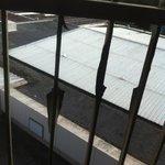 peeling paint on balcony