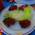Conch Fritters! Best on the island