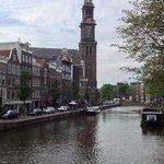 Prinsengracht and Westerkerk