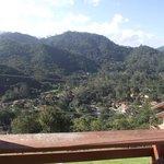 Vista para a vila de Maringá