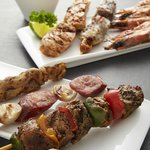 Grilled tapas to complement beers and cocktails