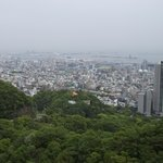 新神戸駅や神戸港方向の眺めです