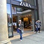 Zara a great store near the hotel