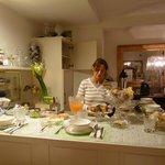 Elisabetta and Breakfast area