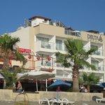 Vista Hotel desde la Playa