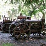 China Flat Museum, antique tractors