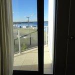 Small balcony off bedroom room 310