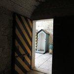 Forte Ardietti: Entrance