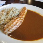 grilled salmon curry rice