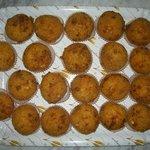 arancini di riso ripieni al prosciutto