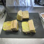 Foie gras made earlier
