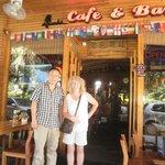 With Jack (owner) Lakeside Inn