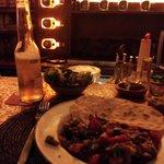 tacos de boeuf avec salade