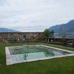 Der Kräutergarten mit dem Swimmingpool