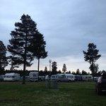 Caravan campsite