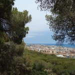 Dalmau Park, uitzicht over Calella