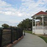 walking along the bluff, Bluff Park, Natchez, MS