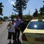 Nikos our wonderful tour guide