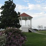 lovely gazebo, Bluff Park, Natchez, MS