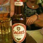 Sagres local beer