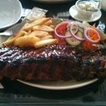 Food at Cockerel Country Kitchen restaurant