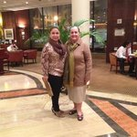 Hall do Hotel, Minha mãe e eu