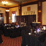 Province Room set for reception