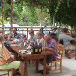 Regulars enjoying lunch