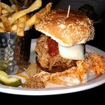 Widow Maker Burger - yum!!  ;-)