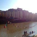 Very close to Arno River
