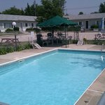 Enjoy the warm pool