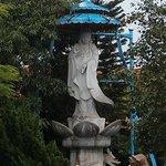 Goddess of Mercy statue.