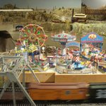 A carnival set up