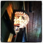 Light fixture in Nebo Lodge - understated and elegant
