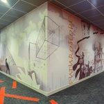 Fresque dans corridors