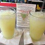 Key Lime Margaritas...very tasty!