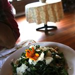 Mixed Kale, Toasted Walnuts, Lemon Vinaigrette, Parmesan Reggiano