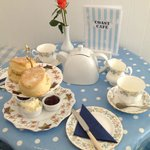 A Coast Cafe Cream Tea