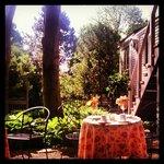 Breakfast in the Beautiful Garden