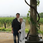 Ronnie & Kerri at beautiful vinyards with friends!